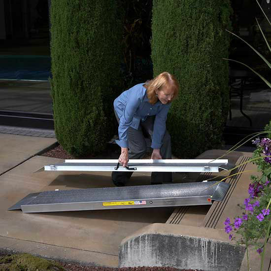 Suitcase Portable Folding Ramps