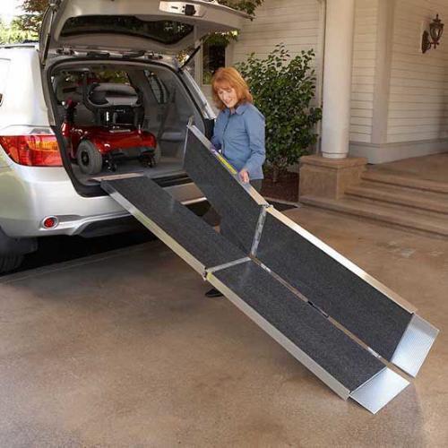 Trifold Wheelchair Portable ramps