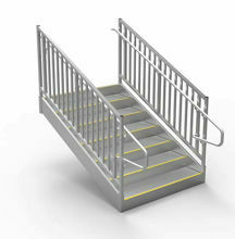 ADA, OSHA and IBC Code  Stairs